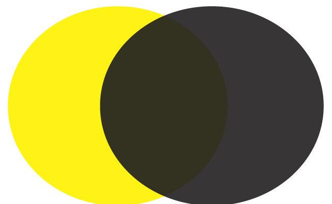 Настройки черного цвета