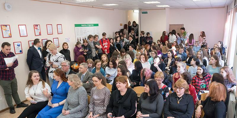 8 марта на площадке «Василеостровская»